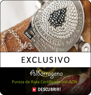 Jamón Albarragena exclusivo
